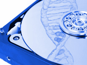 Our DNA is becoming the world's tiniest hard drive