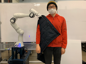 Getting dressed with help from robots