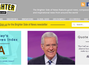 """The first """"A"""" rated news day in Good News Index history"""
