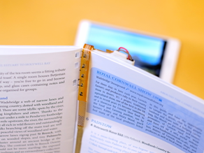 Researchers breathe new life into paper books with the Magic Bookmark
