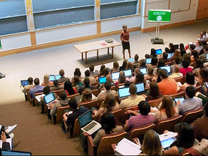 Surprising results in study comparing online to in-person student engagement