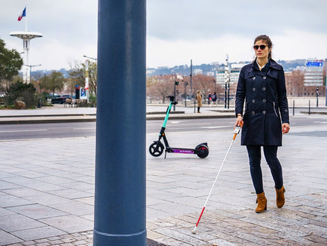 The cane-mounted sensor that helps visually-impaired people avoid outdoor obstacles