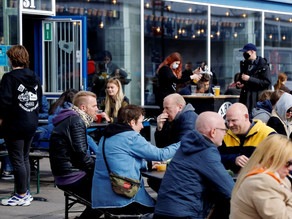 Danish bar offers Covid-19 tests and a beer while you wait to enter