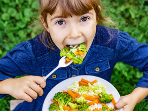 Serving larger portions of veggies found to increase young kids' veggie consumption