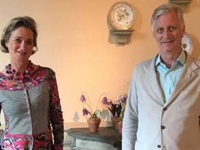 Belgian King meets with his once-secret half-sister for the first time