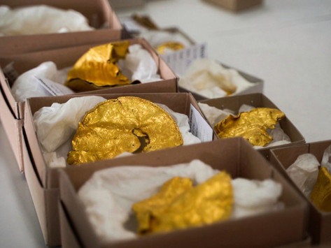 Rookie treasure hunter digs up huge trove of 1,500-year-old pre-Viking gold