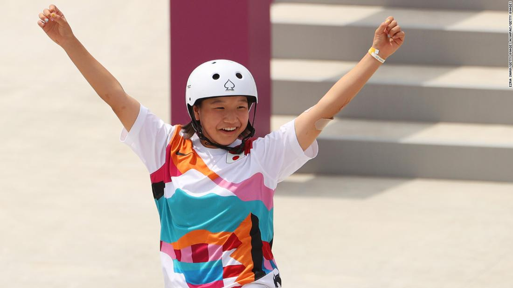 13-year-old Momiji Nishiya just became the second youngest Olympic gold winner ever