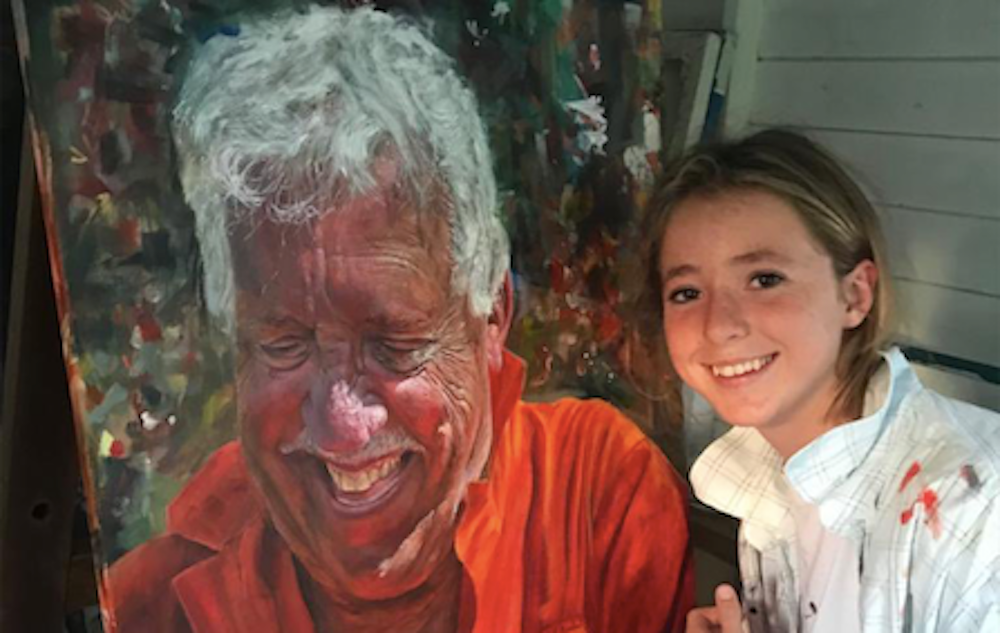 Teen art prodigy's art is in high demand -- she learned to paint during lockdown