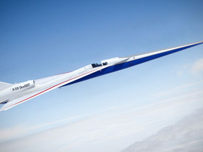 """NASA's Supersonic X-59 Jet """"Quietly"""" Booms Its Way To First Flight"""