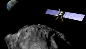 A spacecraft could use gravity to prevent a dangerous asteroid impact