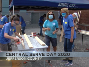 Hundreds of volunteers give back to the community through small acts of kindness