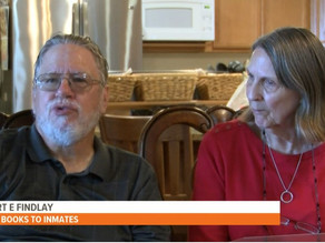 Couple sends books to inmates to show them they are not forgotten