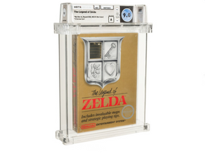 Rare 1987 version of The Legend of Zelda could be yours for $110,000