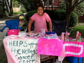 Lemonade, cookies, caring, determination: Teen raises thousands for charity