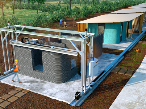 Are you ready for a 3D-printed house? They're cheaper, stronger and long-lasting
