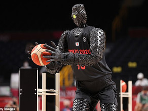 Tokyo Olympics showcases robot basketball player -drains threes and half-court bombs