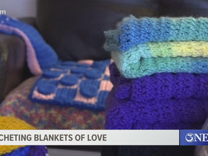 Coastal Bend woman using her crocheting skills to provide 'blankets of love'