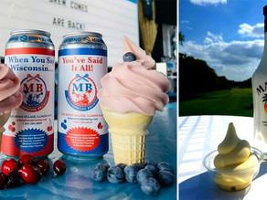 Getting drunk just got tastier thanks to machine that turns beer into soft serve ice cream