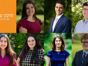 15 Teens Win National Award for Exceptional Leadership to Repair the World