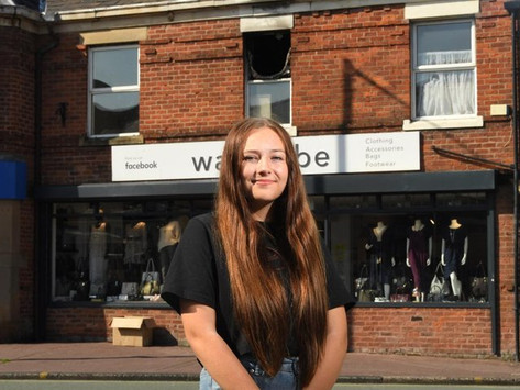 Heroic Leyland girl, 14, rushes in to help people trapped inside burning flat