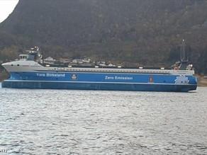 Yara Birkeland, the world's first net-zero, battery-powered autonomous container ship