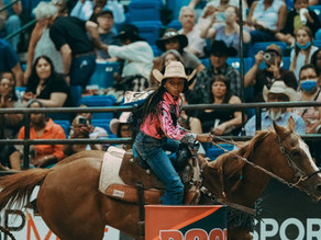 11-Year-Old Cowgirl Makes History Competing at The First Nationally Televised Black Rodeo