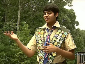 Historically rare feat --- Boy Scout, 16, earns all 137 merit badges