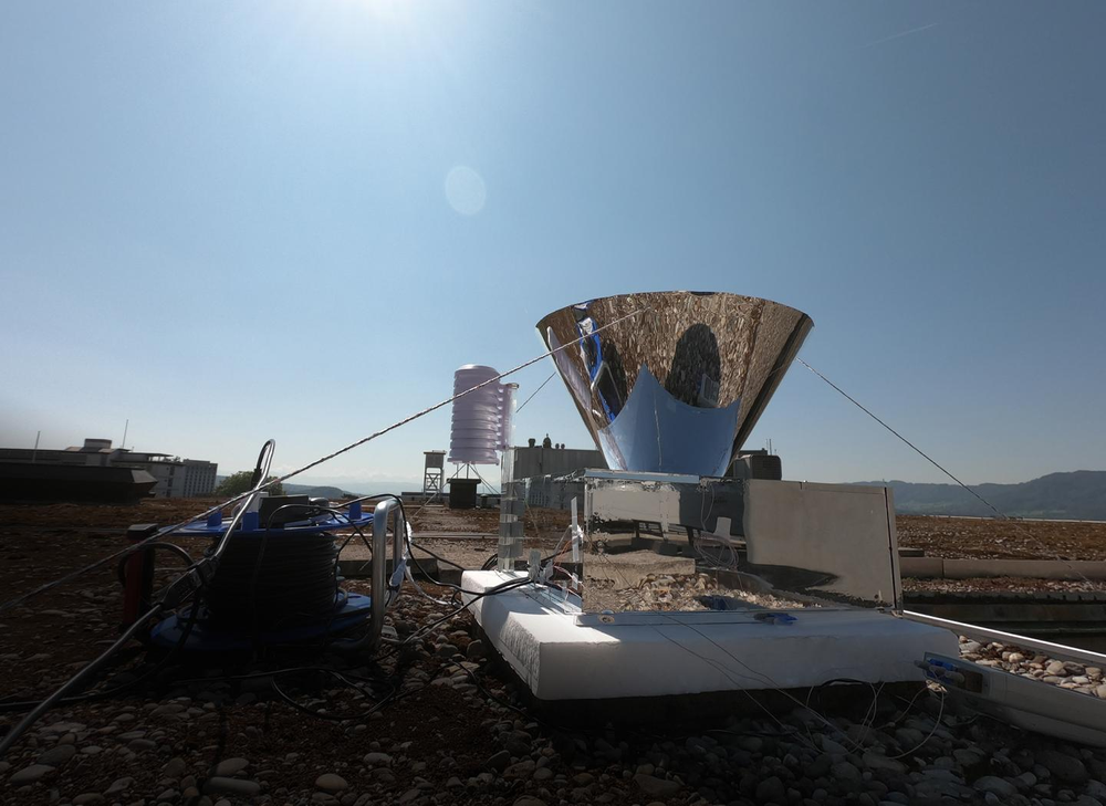 New technology harvests water from the air, 24 hours a day, with no energy input