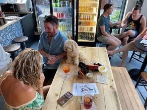A dog and a human walk into a bar... this London bar serves them both