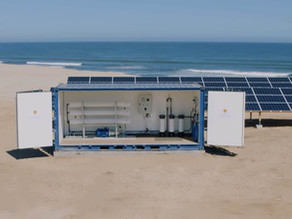 Solar-powered desalination device will provide clean water to 400,000 Kenyans