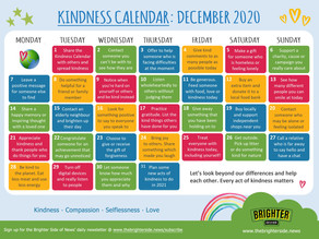 The Brighter Side of News Kindness Calendar December 2020