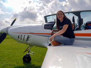 19-year-old aims to become the youngest woman to fly solo around the world