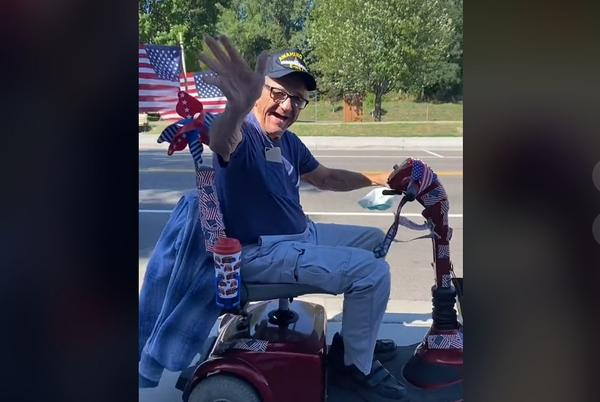 Internet Raises $50K for Veteran, 79, to Replace Mobility Scooter