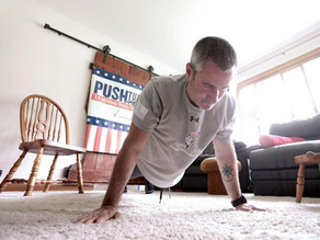 Wisconsin man breaks world record of 1.5 million push-ups for charity
