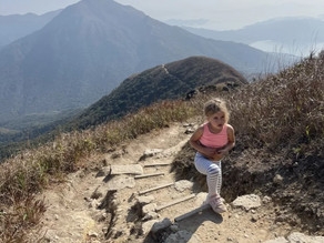 Hiking the whole Lantau Trail teaches five-year-old that hard work pays off