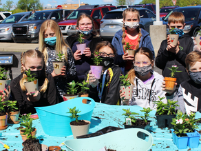 Hilltop Elementary School 'Kindness Crew' to deliver potted plants to nursing home