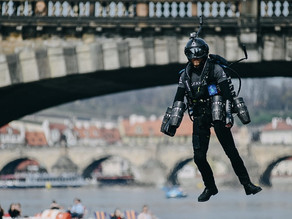 This New Space-Age Jet Suit Is Like Having a VTOL Strapped to Your Arms