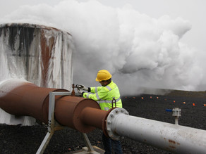 Firms are experimenting with sucking CO2 from the air and turning it into rock below ground