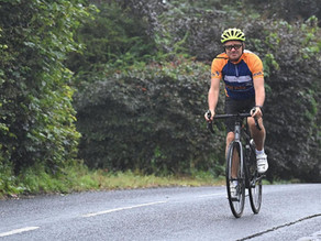 A loving father is keeping alive his daughter's memory by cycling for charity