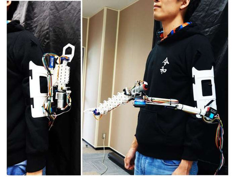 Introducing AugLimb -- The robotic third arm you always needed