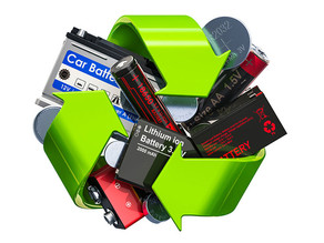 Recycling batteries is shown to be more environmentally friendly