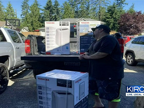 AC Angels donate air conditioners to people in need: They've earned their wings!