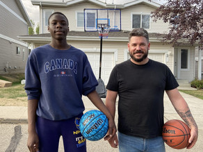 Kind gesture from a neighbour nets teen basketballer the attention of LeBron James
