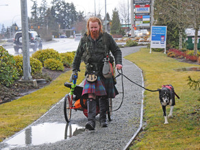 Kilted Scotsman launches walking trek across Canada to raise funds for endangered Forest
