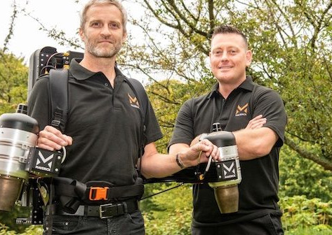 UK-based start-up creates the first hands-free capable jetpack