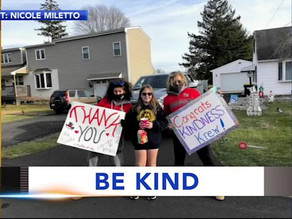 Students complete 'Random Acts of Kindness Calendar'