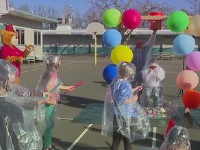 Students get to slime teacher after going viral on TikTok, raising $50K for Shriners