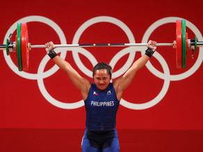 Olympian Hidilyn Diaz wins gold and makes Philipino history