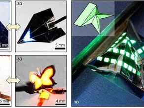 Revolutionary new quantum dot LED (QLED) is as  flexible to fold as paper
