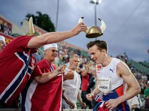 Norwegian Hurdler Breaks The Longest-Standing Record In Men's Track and Field
